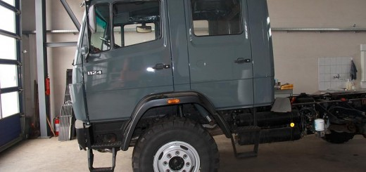 Mercedes MB 1124 AF beim Kauf