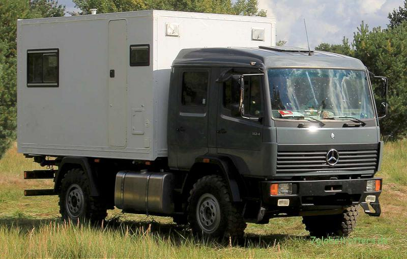 Expeditionsmobil Mercedes-Benz MB 1124 AF