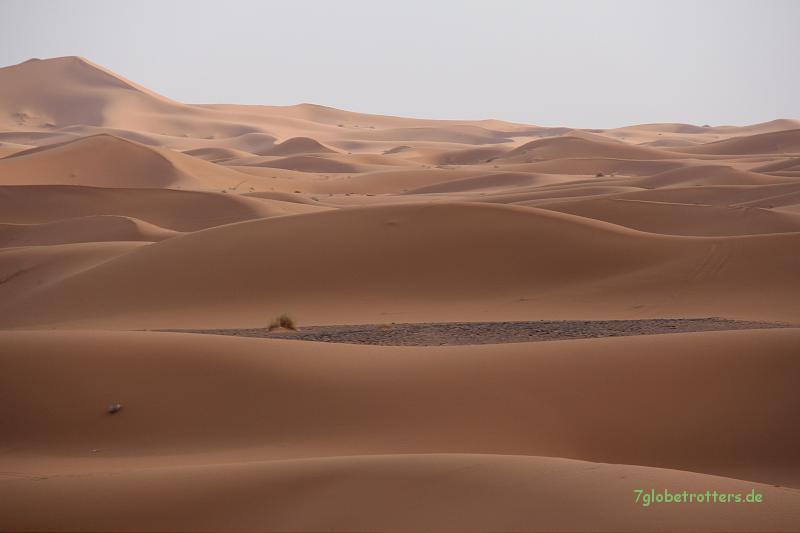 Sanddünen des Erg Chebbi bei Merzouga