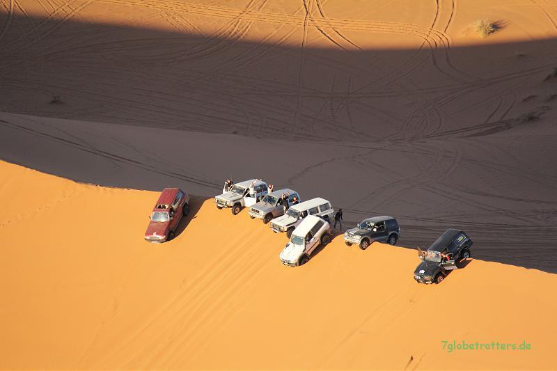 Geländewagenspaß am Erg Chebbi