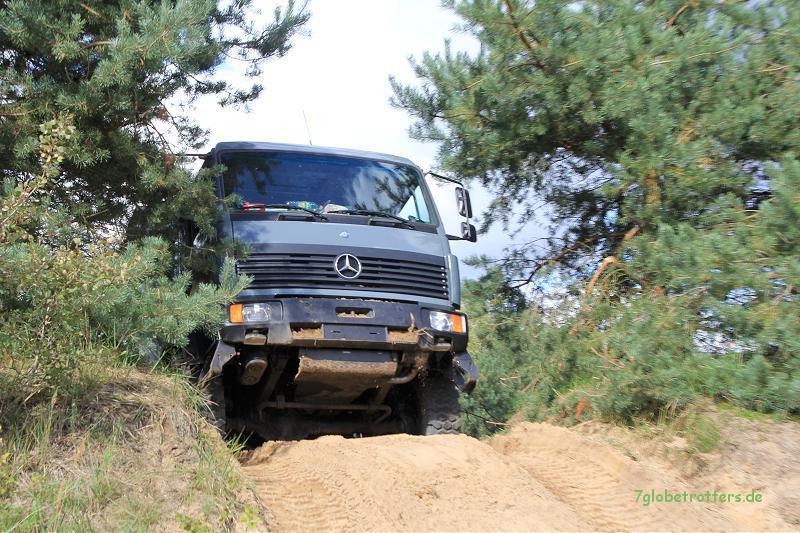 3 Differentialsperren machen aus einem Allrad - LKW ein Expeditionsfahrzeug