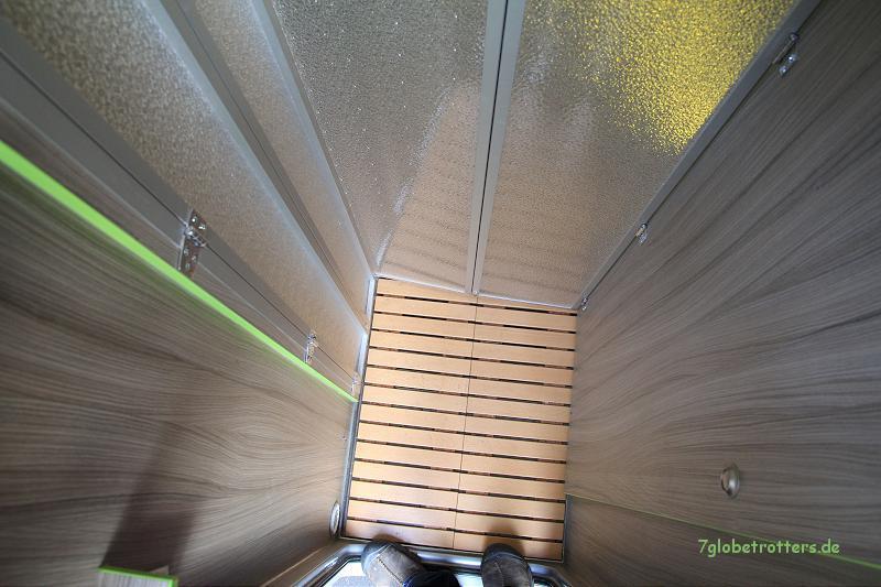Dusche im Wohnmobil