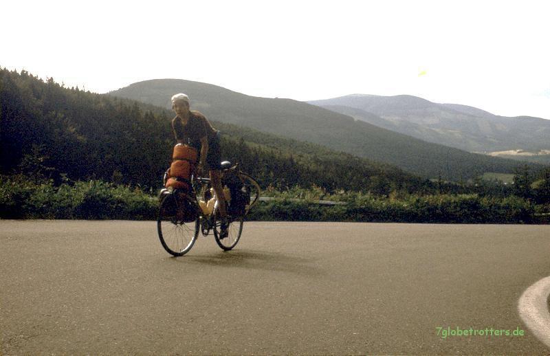 Anstiege im Altvatergebirge