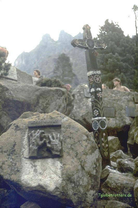 Bergsteigerfriedhof Popradske Pleso