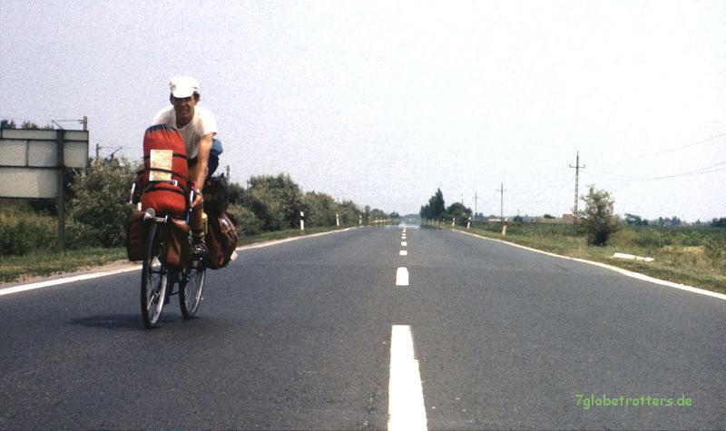 Einmal mit dem Fahrrad quer durch die Puszta