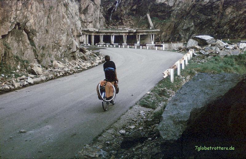 Mit dem Rad über die Transfogarascher Hochstraße