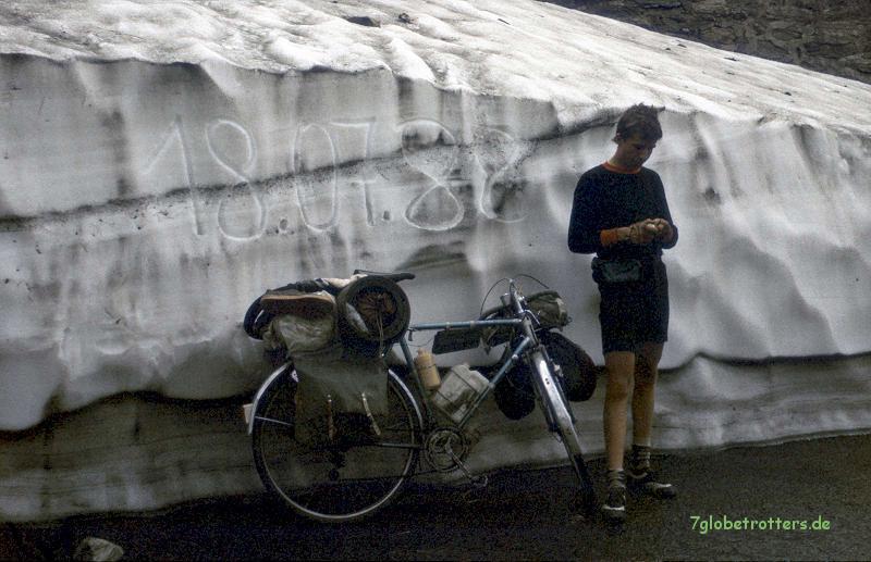 Mit dem Rad über die Transfogarascher Hochstraße, 18.07.1988