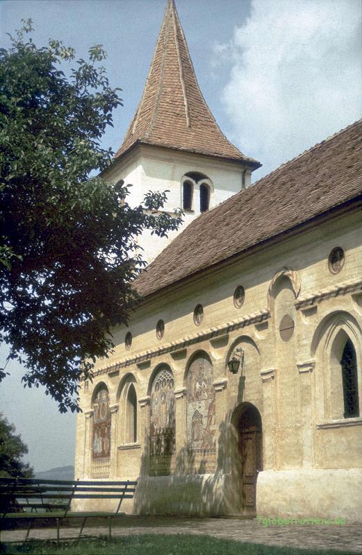 Orthodoxe Kirche von Avrig (Freck) bei Cirtisoara