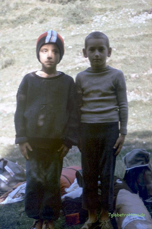 Rumänische Dorfjungen 1988
