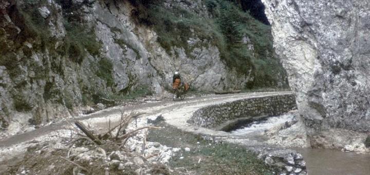 Anfahrt zur Pestera Dambovicioara