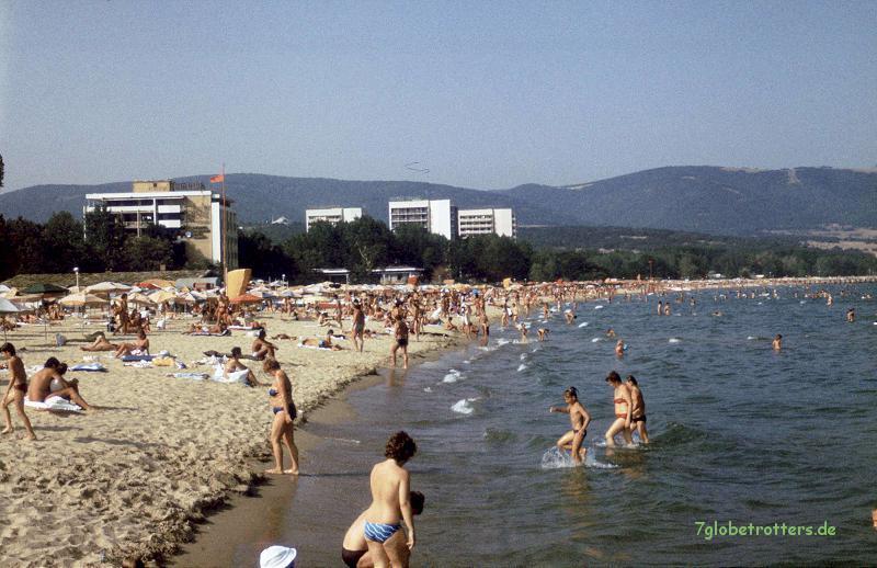 Sonnenstrand bei Nessebar /  Bulgarien