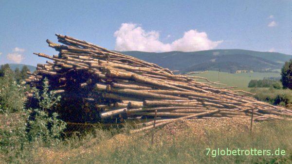 Das tschechische Altvatergebirge
