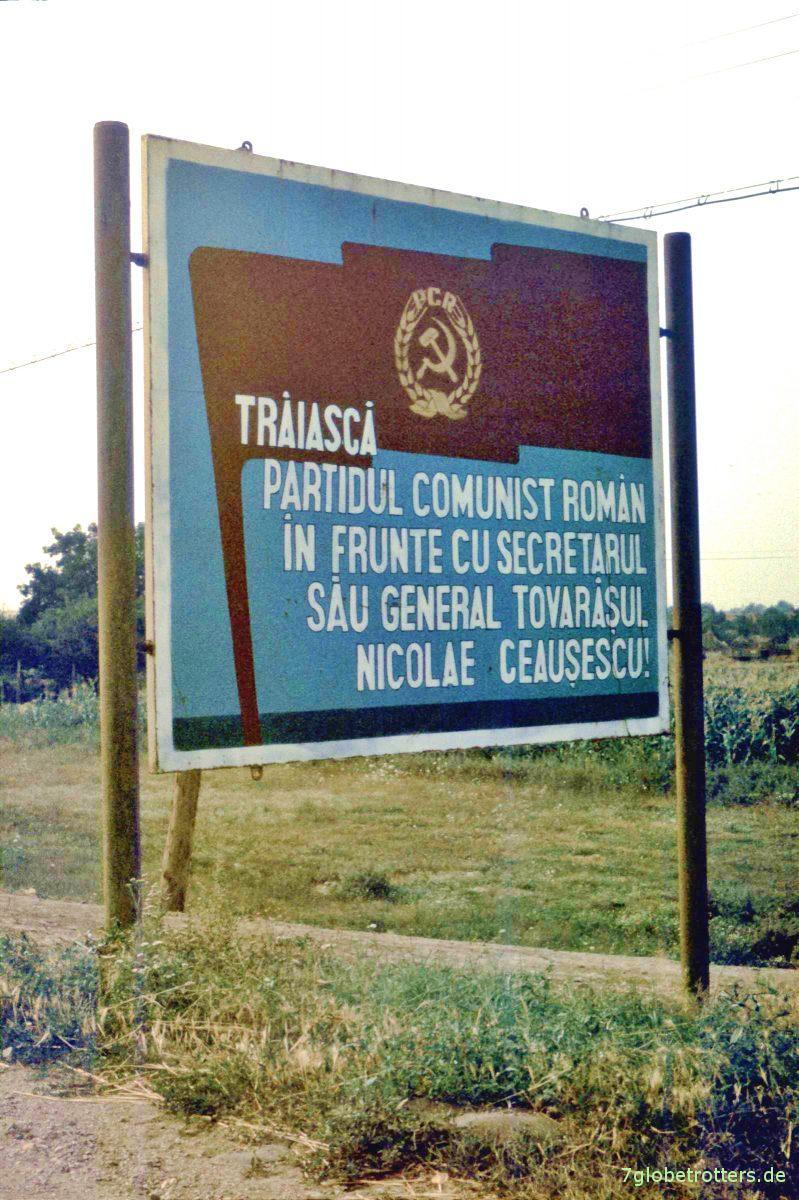 Agitprop für Ceaușescu