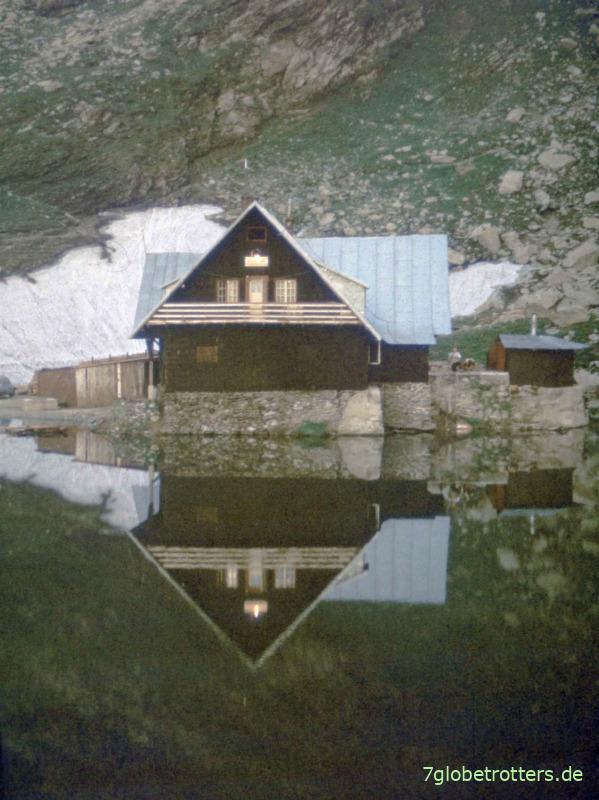Hütte am Bilea Lac, Transfogarascher Hochstraße
