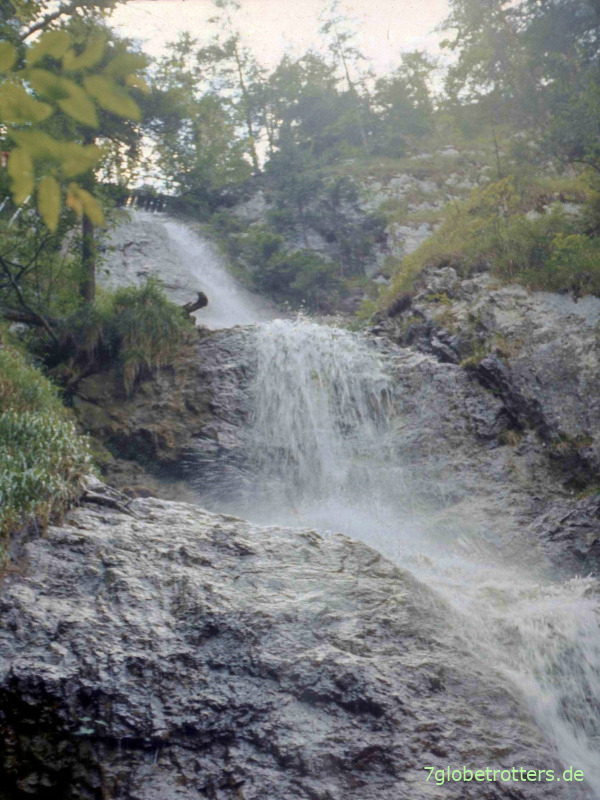 Wasserfall am Sokolina Dolina im Slowakischen Paradies