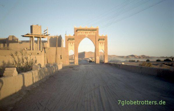 Merzougas Tor zur Wüste