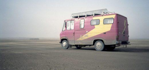 MB 407 D in der Wüste von Marokko