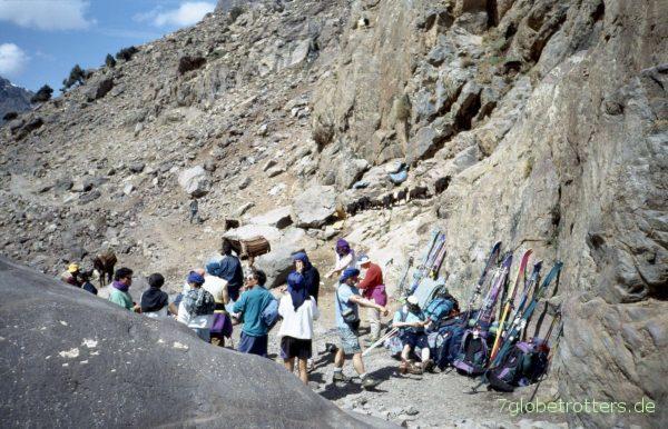 organisierte Treckingtour zum Djebel Toubkal