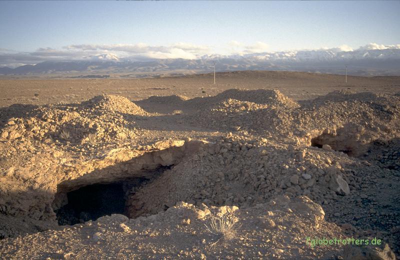 1996 Marokko: Wilde Gruben bei Mibladene