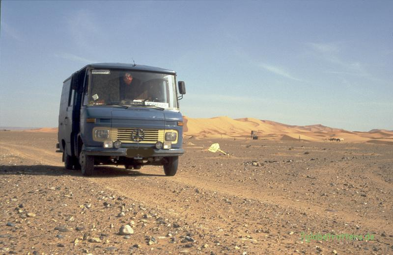 1996 Marokko: Unterwegs auf marokanischen Wellblechpisten