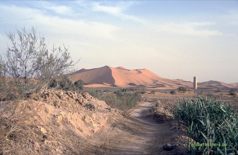 Die große Düne von Merzouga