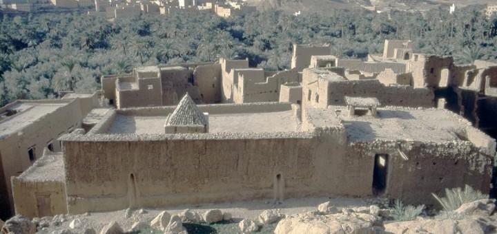 Moschee in der Oase von Tinghir
