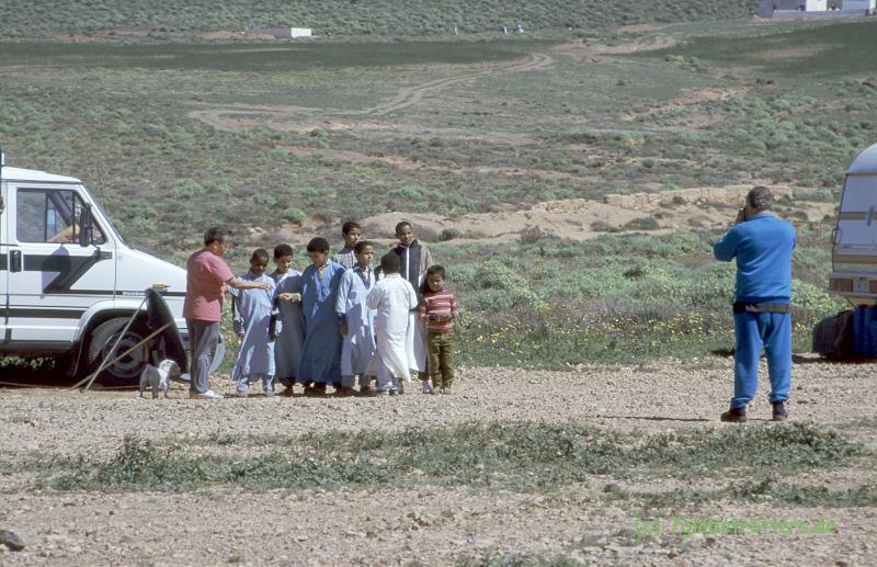 Dauerstellplatz bei Sidi Ifni