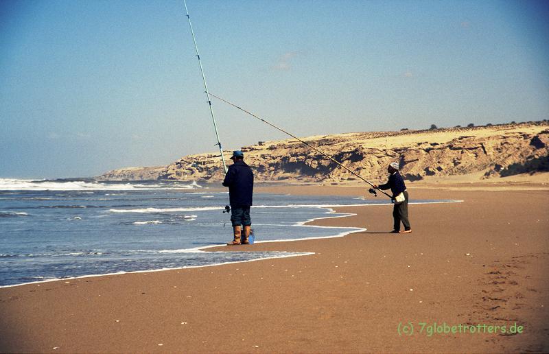 Marokko 1996: Am Strand von Sidi R'bat