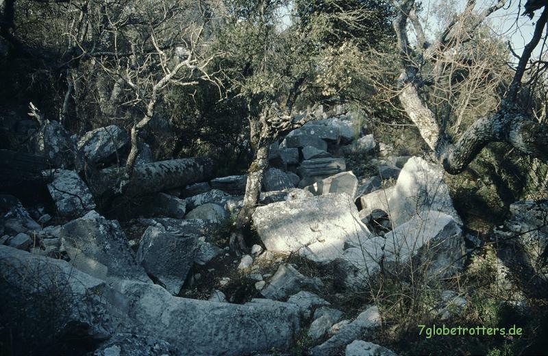 Die Ruinen von Termessos