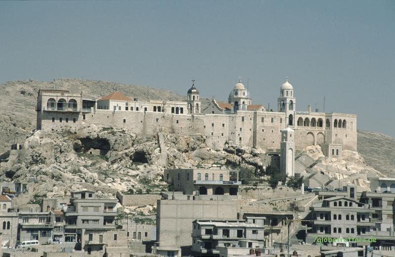 Kloster in den Bergen über Damaskus
