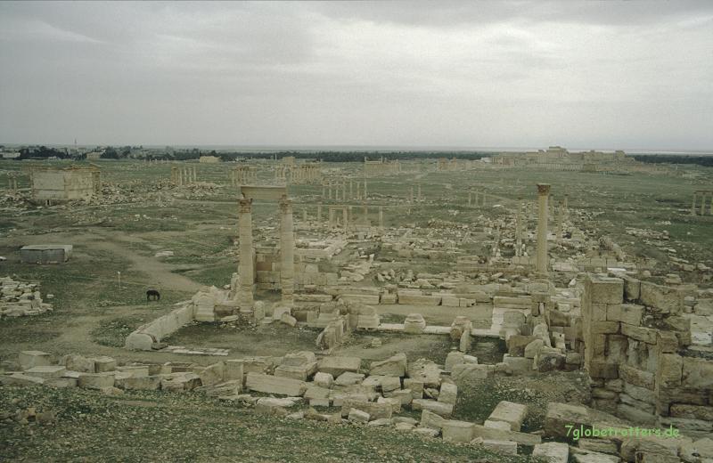 Die Reste von Palmyra