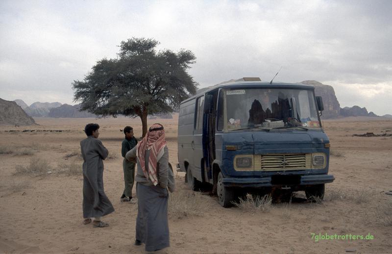 Anerkennung oder Mitleid für den Wüsten-Düdo?