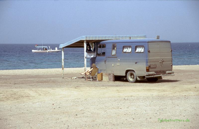 """""""Campingplatz"""" am Korallenriff"""