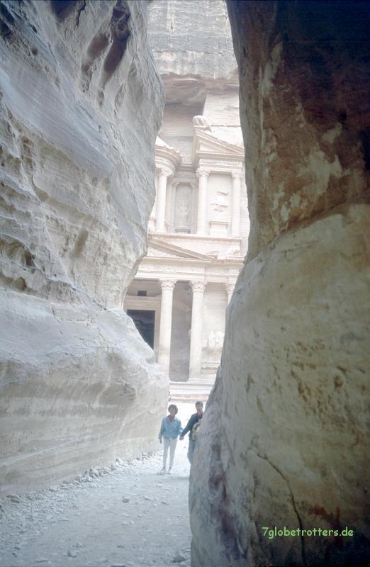 Der typische Petra-Blick