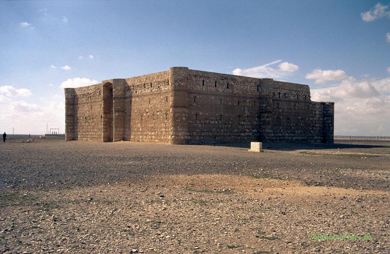 Eines der einsamsten Wüstenschlösser: Quasr-al-Khamara