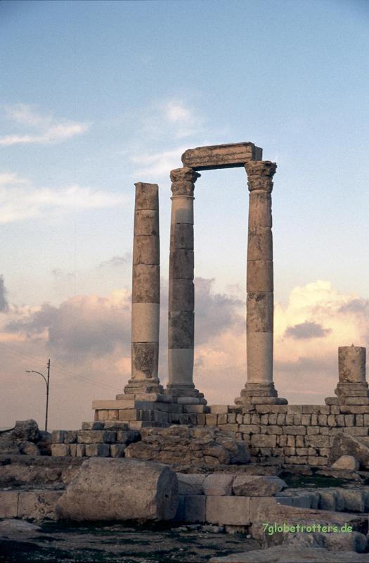 Ruinen des antiken Gadara