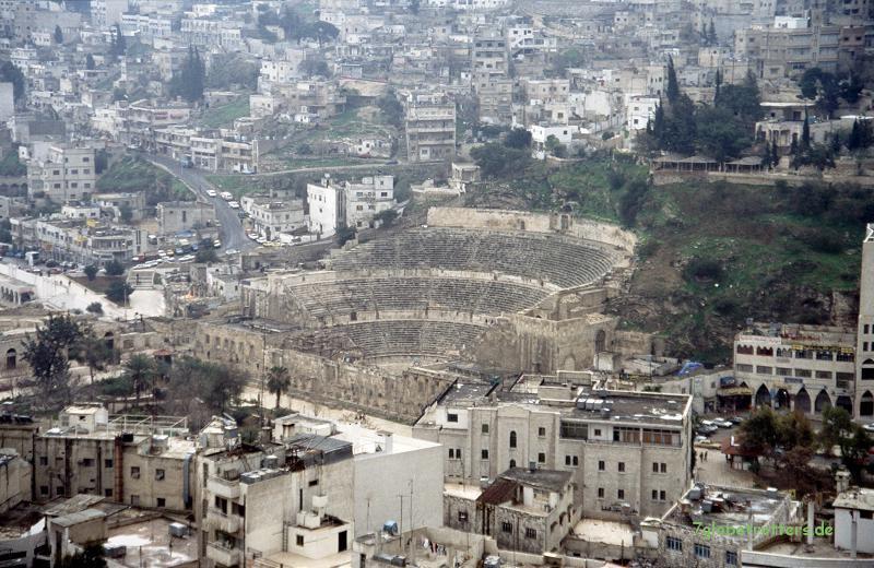 Das Amphitheater von Amman