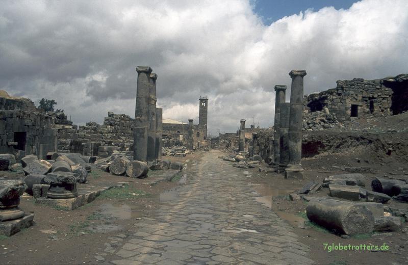 Die schwarzen Ruinen von Basra