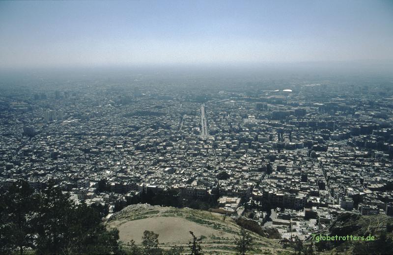Blick auf Damaskus