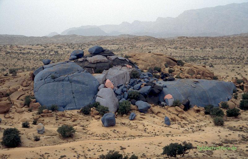 Christos Blaue Felsen bei Tafraoute