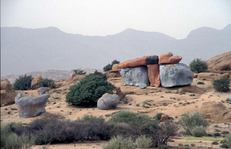 Blaue Felsen bei Tafraoute