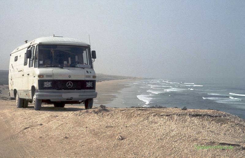 MB 508 D bei Essaouira