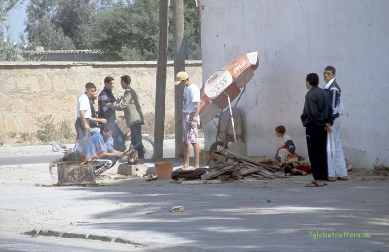 Hammelzubereitung in Rabat
