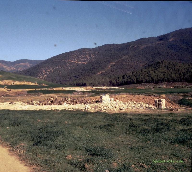 Neuer Staudamm im Tazzekka Nationalpark