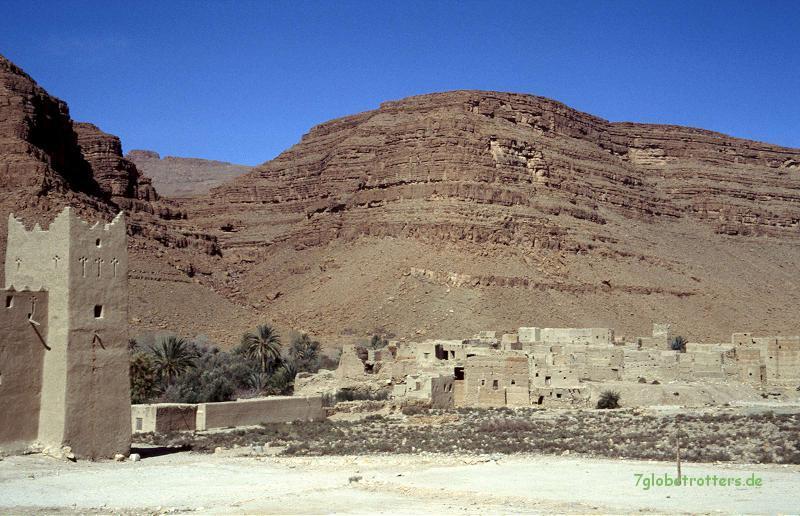 Oued Ziz, Marokko