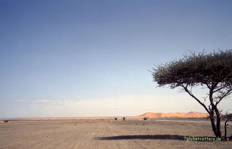 Die grandiosen Dünen des Erg Chebbi in Marokko
