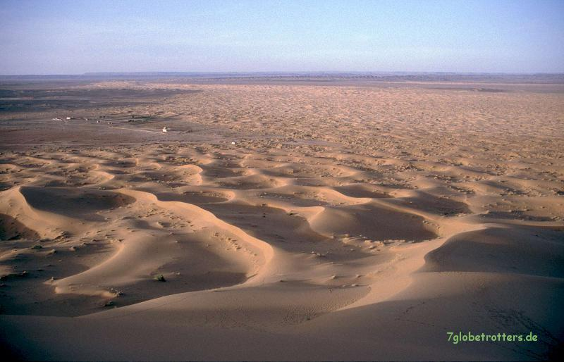 Sand, Sand, Sand am Erg Chebbi