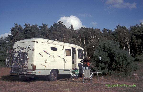 Nordischer Stellplatz in Grimsholmen, Norwegen 2000