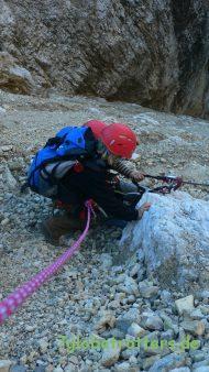 Klettersteig durch die Panascharte