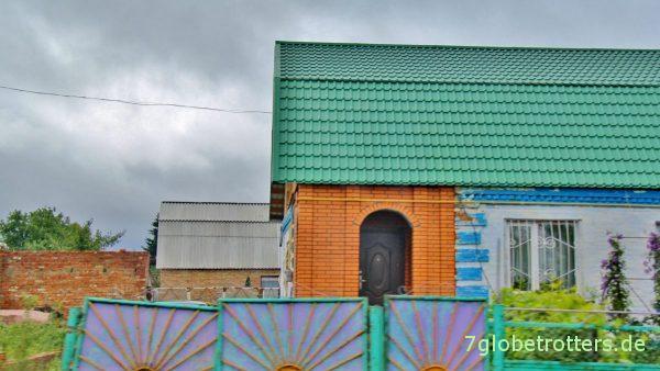 Bunte Alltagsarchitektur in der Ukraine